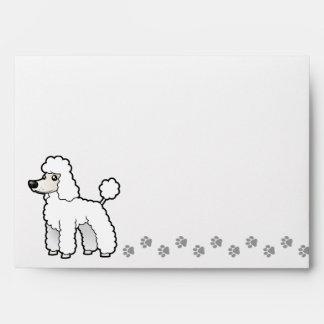 Cartoon Standard/Miniature/Toy Poodle Envelope