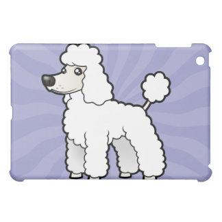 Cartoon Standard/Miniature/Toy Poodle iPad Mini Cases
