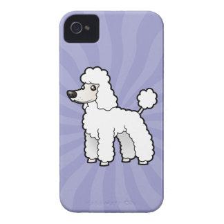 Cartoon Standard/Miniature/Toy Poodle iPhone 4 Case