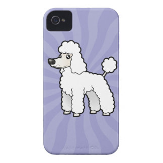 Cartoon Standard/Miniature/Toy Poodle iPhone 4 Cover