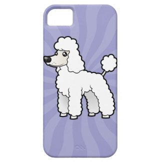 Cartoon Standard/Miniature/Toy Poodle iPhone 5 Case