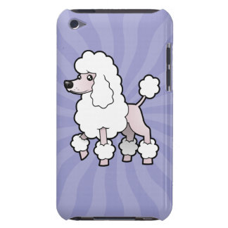 Cartoon Standard/Miniature/Toy Poodle (show cut) iPod Touch Cases