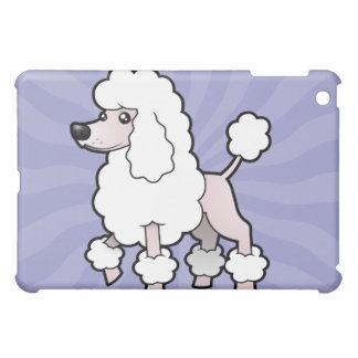 Cartoon Standard/Miniature/Toy Poodle (show cut) iPad Mini Cases