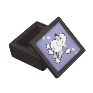 Cartoon Standard/Miniature/Toy Poodle (show cut) Premium Gift Box