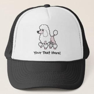 Cartoon Standard/Miniature/Toy Poodle (show cut) Trucker Hat