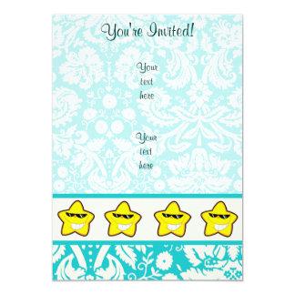 Cartoon Star; Cute Card