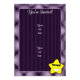 Cartoon Star; Purple Card