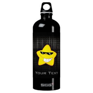 Cartoon Star; Rugged Aluminum Water Bottle