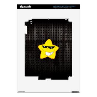 Cartoon Star; Rugged iPad 3 Decals