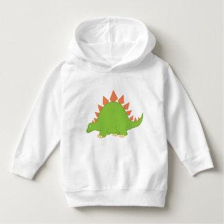 Cartoon Stegosaurus Dinosaur Tee Shirt