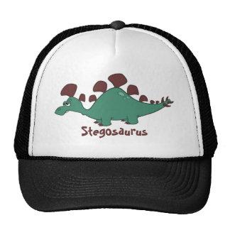 Cartoon Stegosaurus Trucker Hat