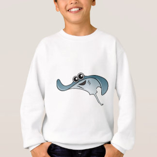 Cartoon Stingray Sweatshirt