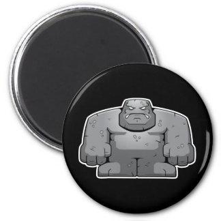 Cartoon Stone Monster Magnet