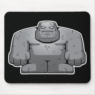 Cartoon Stone Monster Mouse Pad