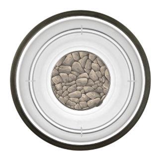 Cartoon Stone Texture Bowl