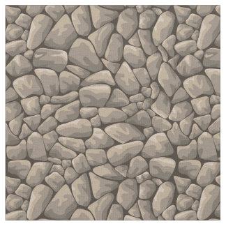 Cartoon Stone Texture Fabric