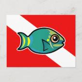 Stoplight Parrotfish Diver Down Flag
