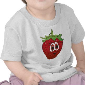 Cartoon Strawberry II T Shirts
