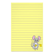 Cartoon Style Mouse Stationery