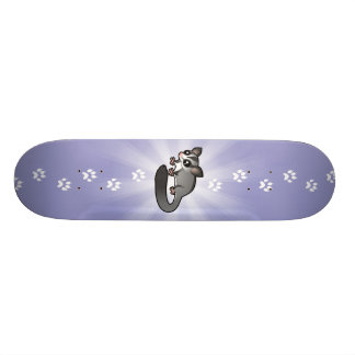 Cartoon Sugar Glider Skateboard Deck