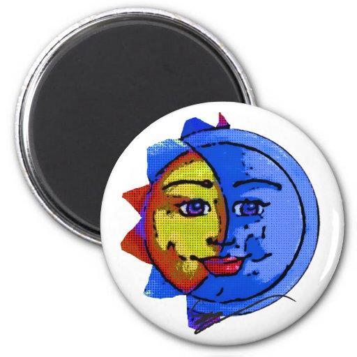 Cartoon Sun #1 Magnet