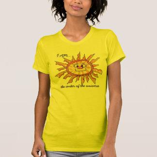 Cartoon Sun-Center of the Universe T Shirt