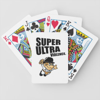 cartoon super Ultra violence Bicycle Playing Cards