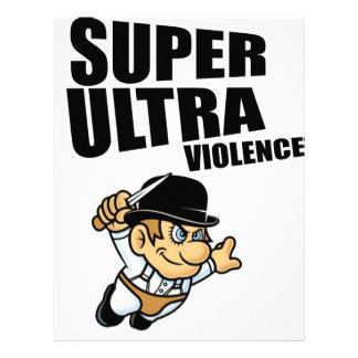 cartoon super Ultra violence Letterhead