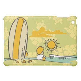 Cartoon Surfing Olive  iPad Mini Cases