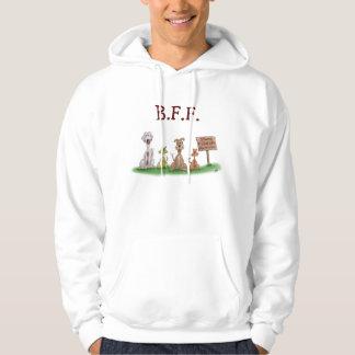 Cartoon sweat shirts: Best Friends Forever Hoodie