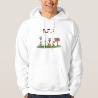 Cartoon sweat shirts: Best Friends Forever Pullover