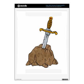 cartoon sword in stone xbox 360 console skins