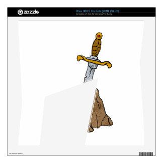 cartoon sword in stone xbox 360 s skin