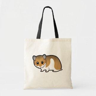 Cartoon Syrian Hamster Budget Tote Bag