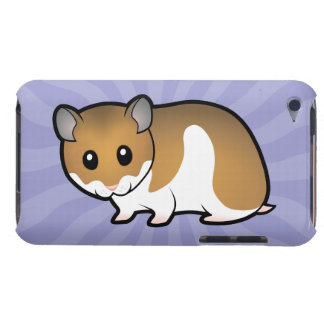 Cartoon Syrian Hamster iPod Touch Case