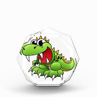 Cartoon T-rex Acrylic Award
