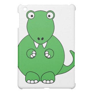 Cartoon T-Rex (green) iPad Mini Cover