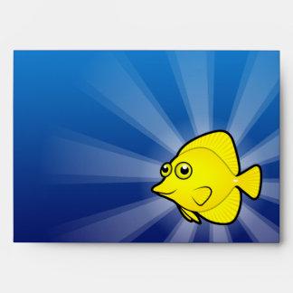 Cartoon Tang / Surgeonfish 1 Envelope