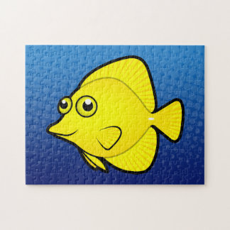 Cartoon Tang / Surgeonfish 1 Jigsaw Puzzle