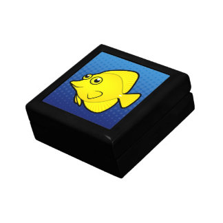 Cartoon Tang / Surgeonfish 1 Keepsake Box