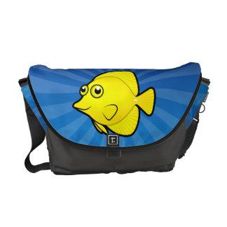 Cartoon Tang / Surgeonfish 1 Messenger Bag