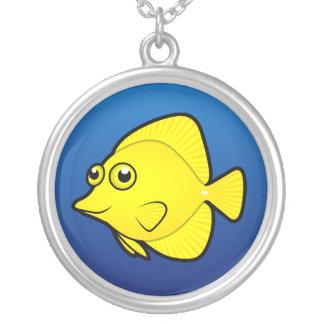Cartoon Tang / Surgeonfish 1 Necklace