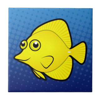 Cartoon Tang / Surgeonfish 1 Tile