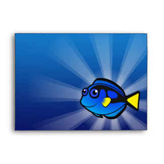 Cartoon Tang / Surgeonfish 2 Envelope
