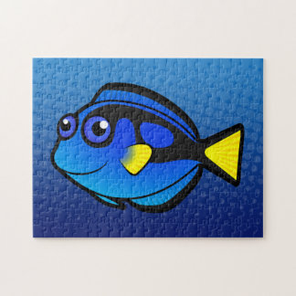Cartoon Tang / Surgeonfish 2 Jigsaw Puzzle