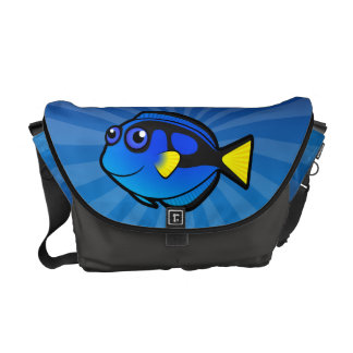 Cartoon Tang / Surgeonfish 2 Courier Bags