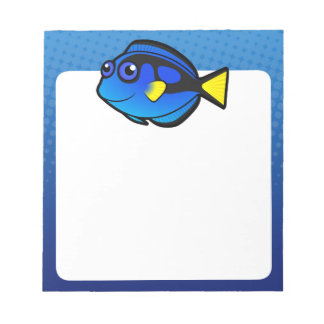 Cartoon Tang / Surgeonfish 2 Notepad