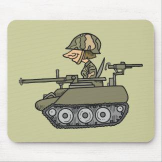 Cartoon Tank Mouse Pad