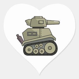 Cartoon Tank Stickers