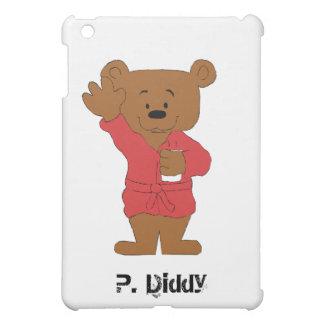 Cartoon Teddy Bear P Diddy Fan iPad Mini Cover